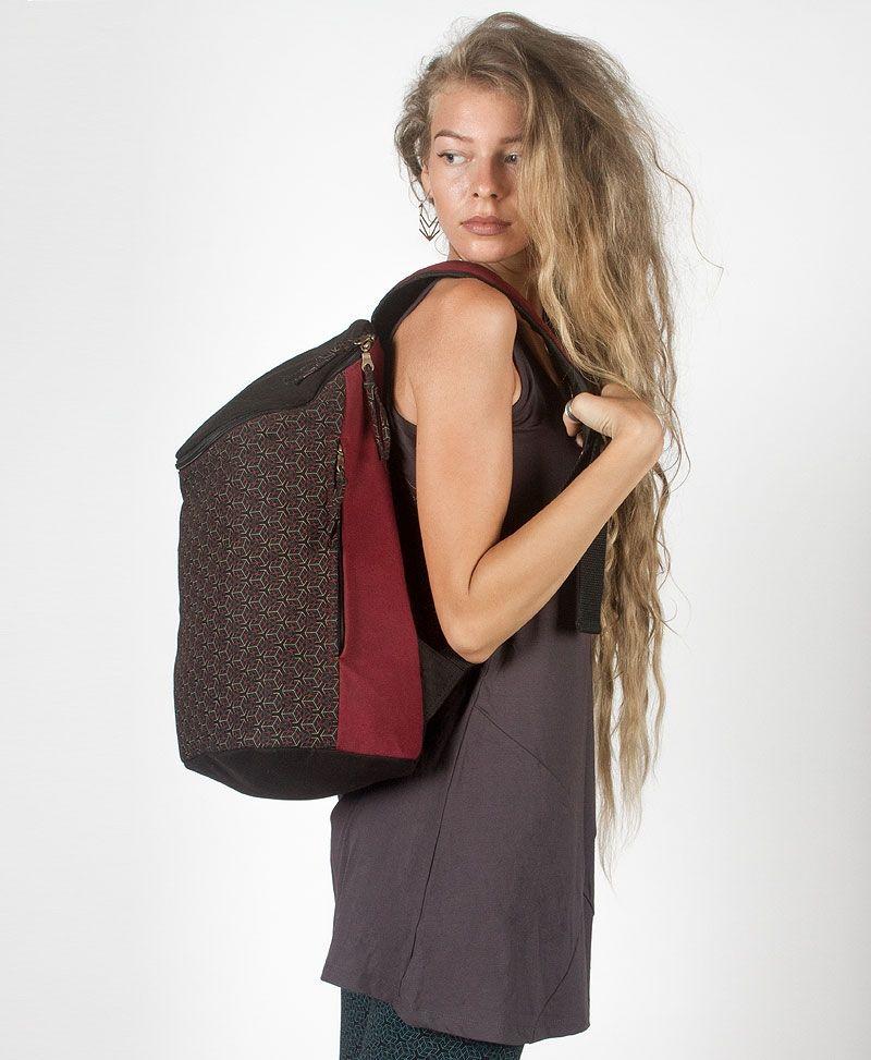 Kubic Wide Top Backpack